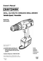 Craftsman 973.111471 manuals