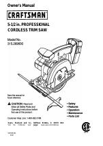 Craftsman 315.269600 manuals