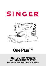 SINGER 1 ONE Plus Instruction Manual manuals