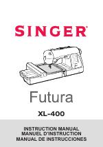 SINGER Futura XL-400 manuals