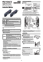 KEYENCE FS-N10 Series manuals