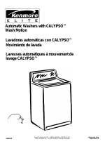 Kenmore Washer manuals
