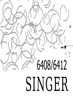 SINGER 6412 manuals