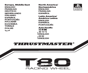 Thrustmaster T80 Racing Wheel manuals
