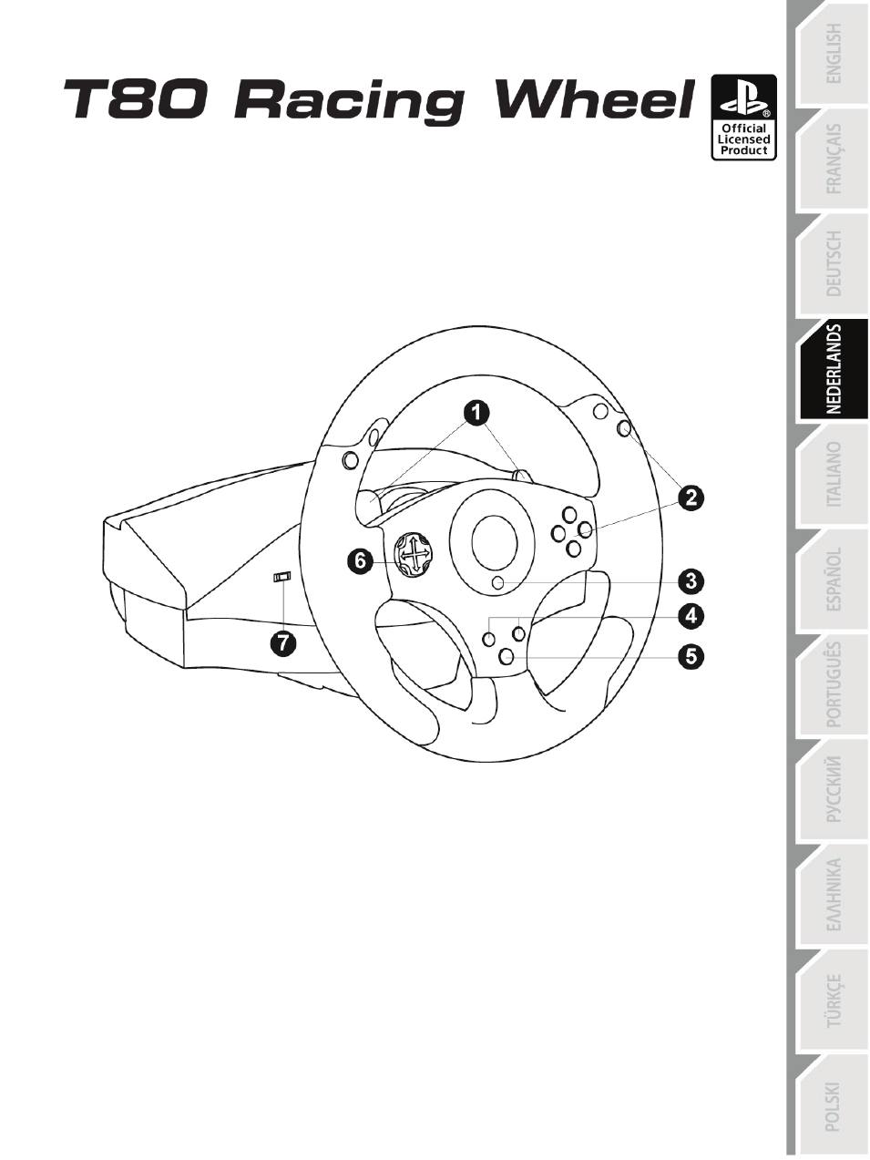 04_ned_t80_racing_wheel, Technische specificaties