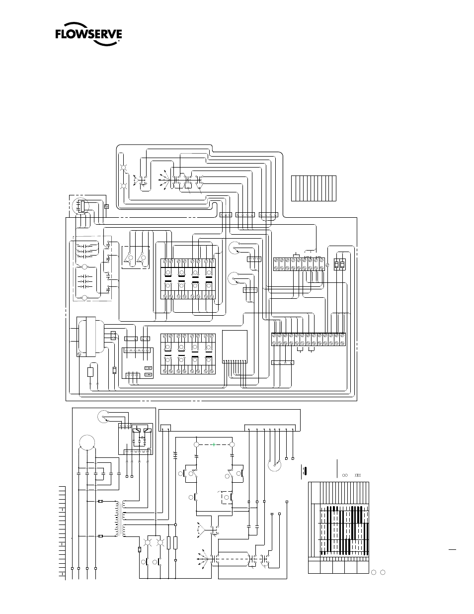 1 typical wiring diagram, Three-phase with control package