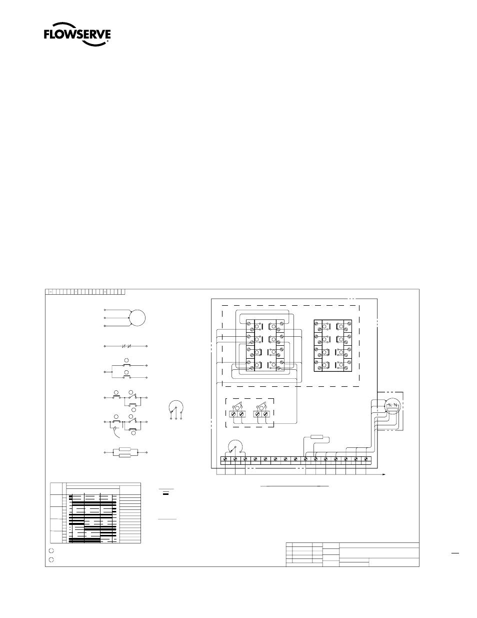 Standard wiring diagrams, 49 limitorque, Figure 9.1