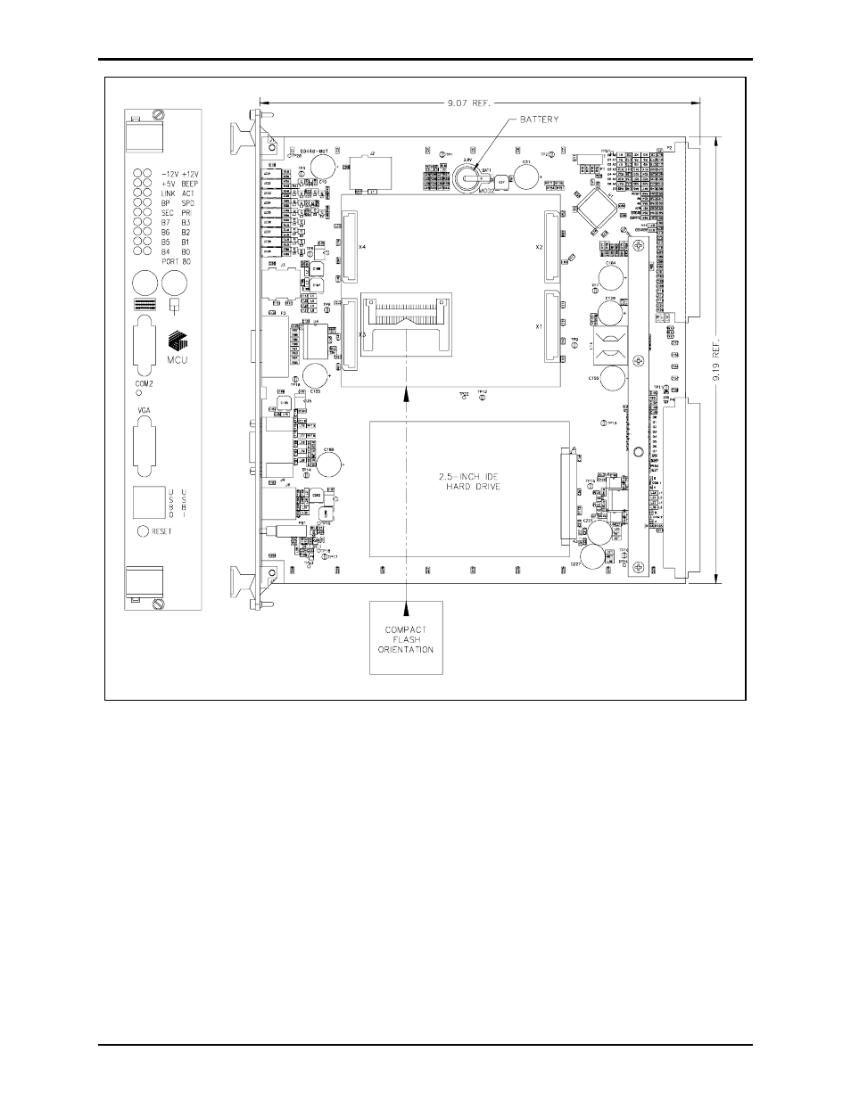 GAI-Tronics 69440-001 Master Control Unit PCBA (MCU) User