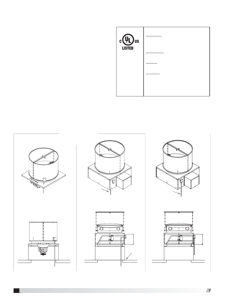 Disconnect wiring options, Electrical connections