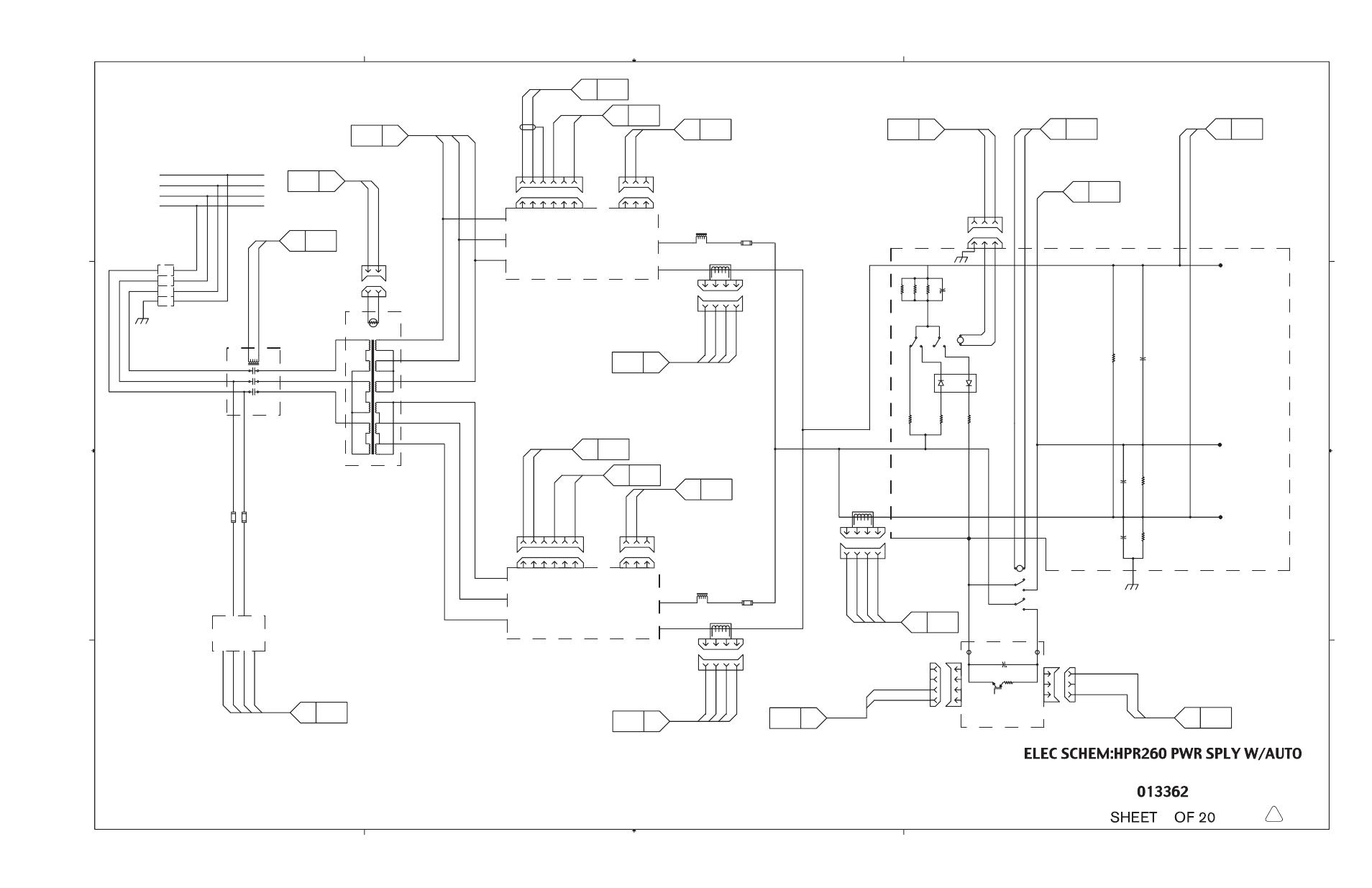 Hypertherm HPR260 Manual Gas Preventive Maintenance