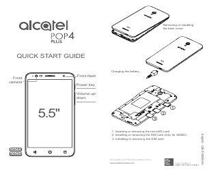 Alcatel POP 4 Plus 5056X manuals