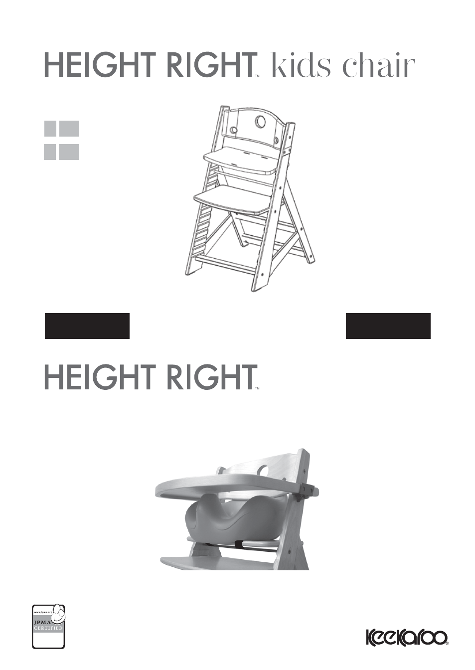 high chair table cover posture joe rogan keekaroo height right + infant insert tray user manual | 7 pages ...