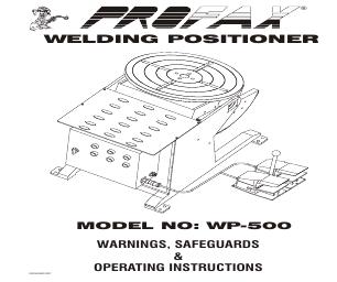 Profax WP-1000 manuals