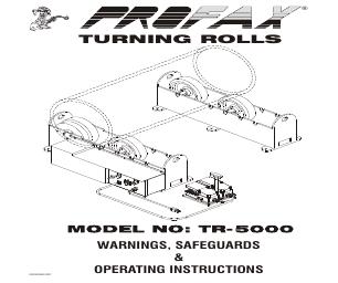 Profax TR-5000 manuals
