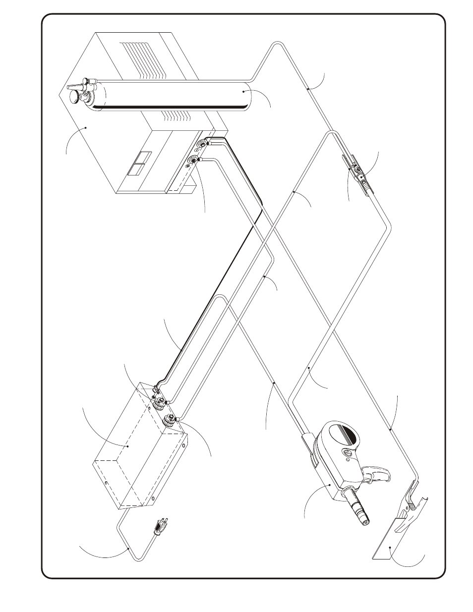 Aec 200-3a contactor, Contactor control box model aec 200