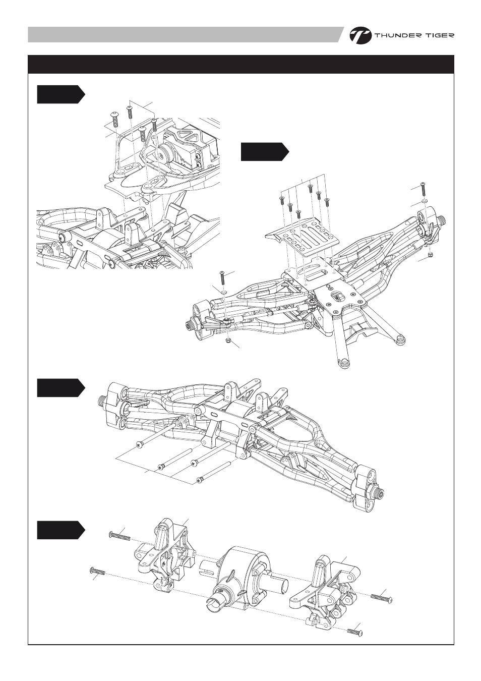 6403 p18.pdf, Front suspension maintenance, Step5 step7