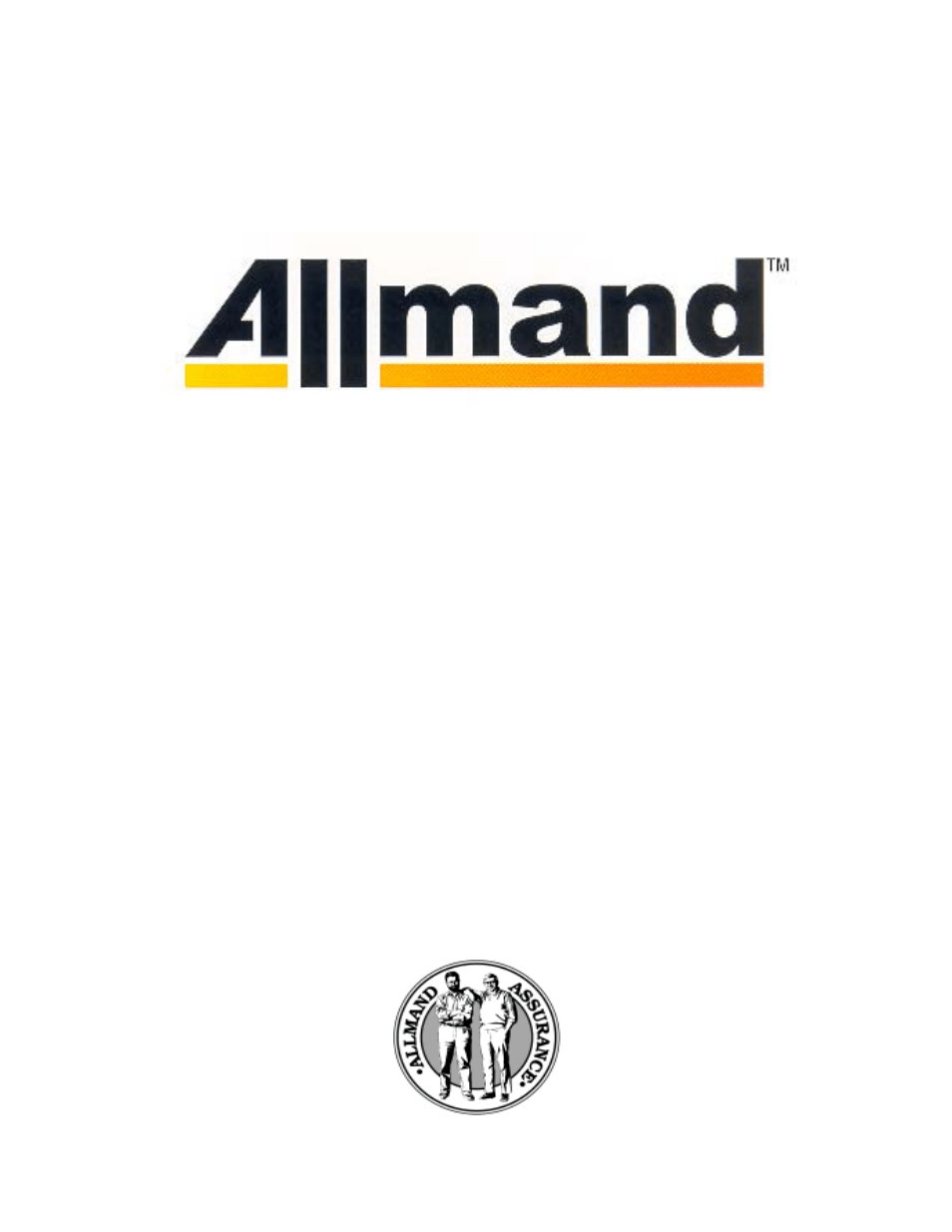 Allmand Brothers Allmand 8.5 10 FT BACKHOE User Manual