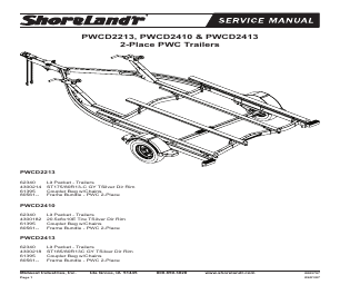 ShoreLand'r PWCD2410 V.1 manuals