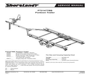ShoreLand'r PT2122A manuals