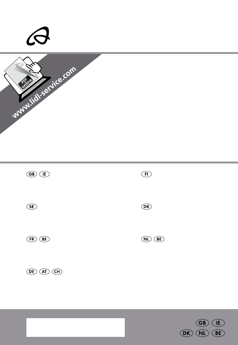 hight resolution of auriol z31793 user manual