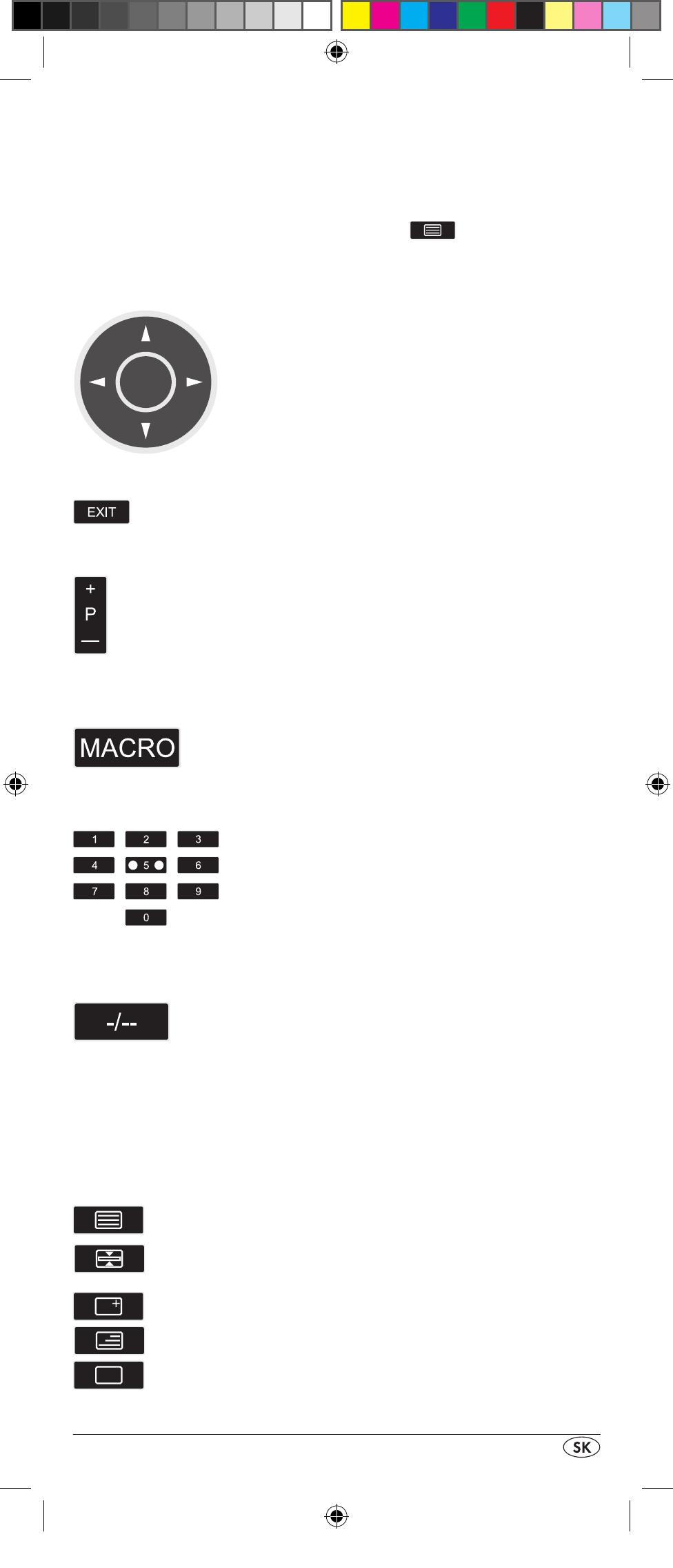 Silvercrest 10-IN-1 REMOTE CONTROL SFB 10.1 B2 User Manual