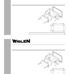 whelen m6fc600 user manual 1 page on whelen lights whelen lightbar diagram  [ 954 x 1235 Pixel ]