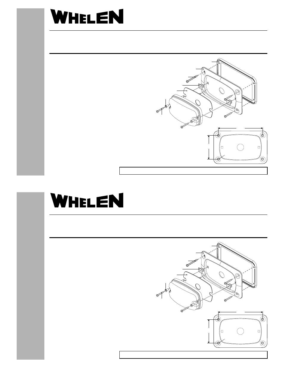 medium resolution of  whelen m6fc600 user manual 1 page on whelen lights whelen lightbar diagram