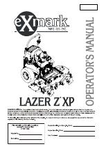 Exmark Lazer Z manuals