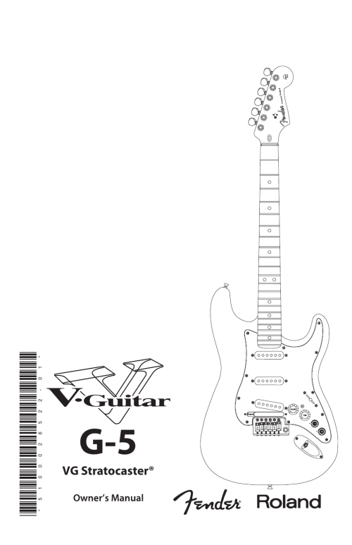 small resolution of fender roland g 5 vg stratocaster user manual 18 pages rh manualsdir com 5 way strat switch wiring diagram fender 5 way switch wiring