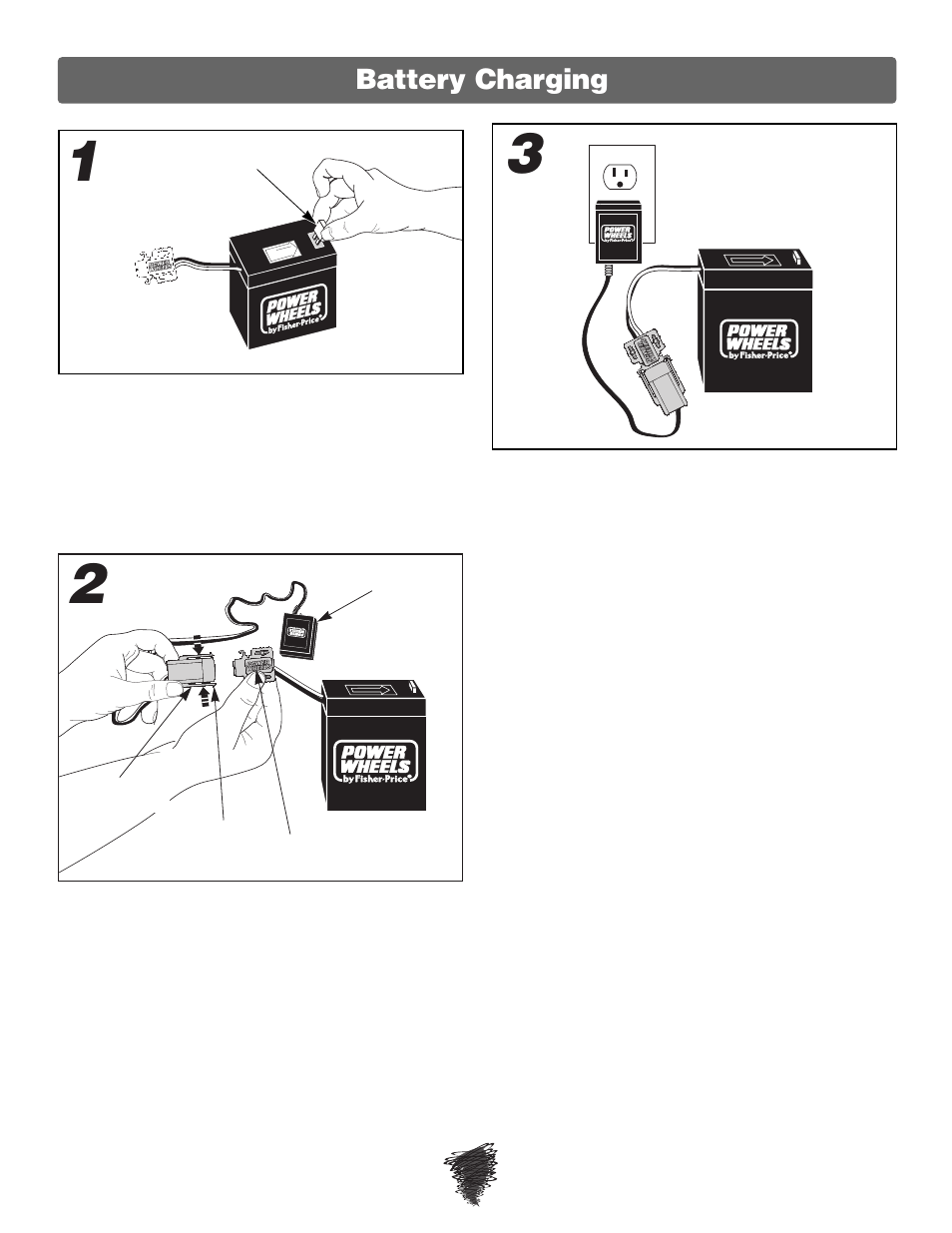 medium resolution of battery charging fisher price wild thing 74180 user manual page 8 28