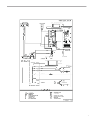 Schematic, Wiring diagram | Friedrich KUHL R410A User Manual | Page 74  87