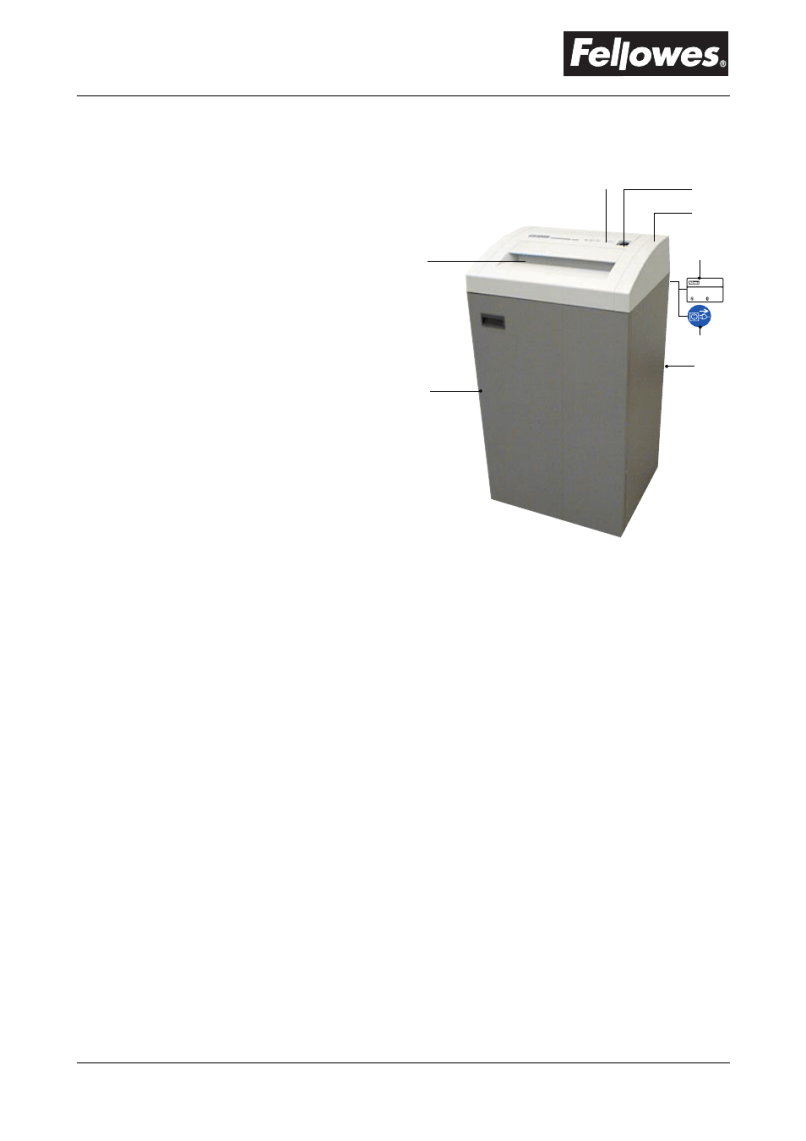 Important Safety Instructions Parts Identification Fellowes C 420 User Manual Page 4 8