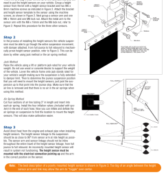 height sensor installation firestone intelli ride 2230 user manual page 9 20 [ 954 x 1235 Pixel ]