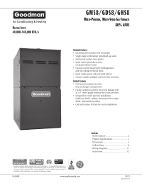 Goodman A18 05 Air Handler Wiring Diagram Goodman HKR 10 ...