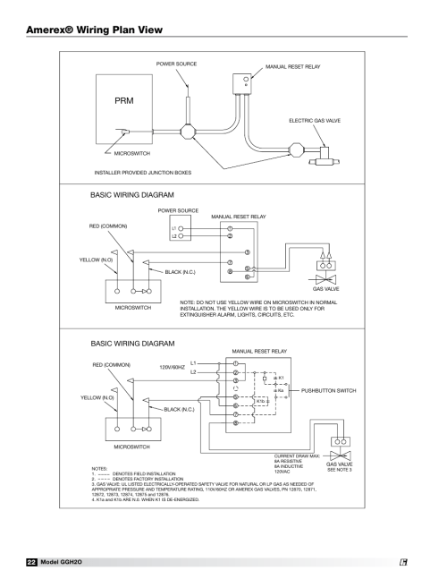 small resolution of amerex wiring plan view basic wiring diagram greenheck fan grease grabber h2o auto cleaning hood ggh20 user manual page 22 28