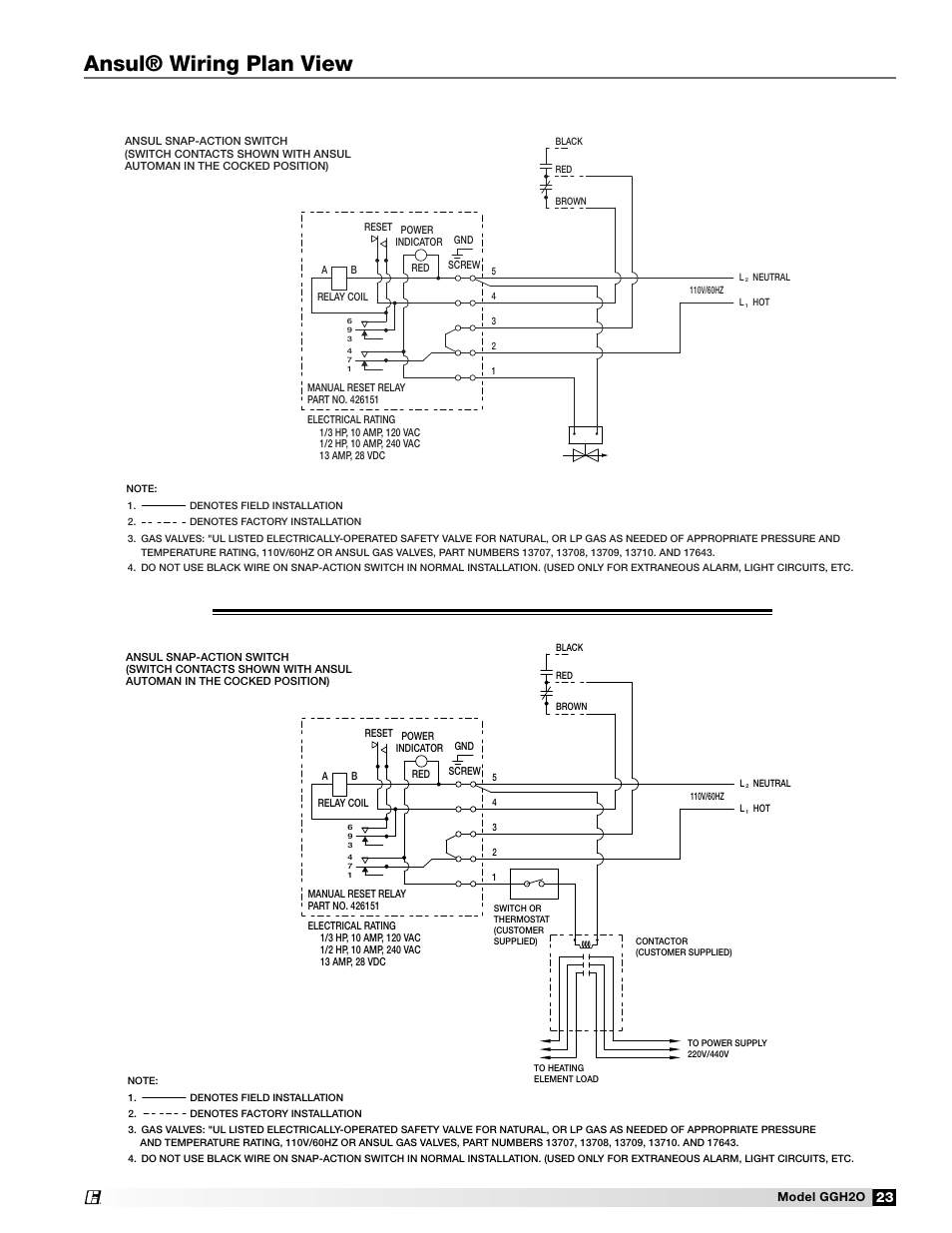 medium resolution of ansul wiring plan view greenheck fan grease grabber h2o auto cleaning hood ggh20 user manual page 23 28
