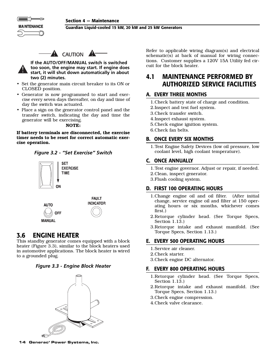 medium resolution of 6 engine heater generac 0047210 user manual page 16 52