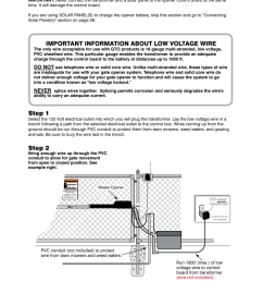 connecting the transformer step 1 step 2 gto mighty mule 352 user manual page 28 48 [ 954 x 1235 Pixel ]