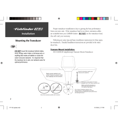 installation mounting the transducer garmin 160 user manual page 10 50 [ 1235 x 954 Pixel ]