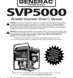 generac generator specification [ 954 x 1235 Pixel ]