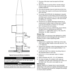 laboratory exhaust fan wiring diagram wiring diagramskitchen roof mounting installation warning greenheck fan laboratory exhaust [ 954 x 1235 Pixel ]
