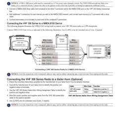 connecting the radio to a hailer horn garmin vhf ghs 10i user manual page 7 12 [ 954 x 1235 Pixel ]