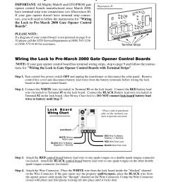 mighty mule wiring diagram wiring diagram show mighty mule exit wand wiring diagram connecting the lock [ 954 x 1235 Pixel ]