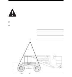 observe and obey lifting instructions genie z 45 user manual page 33 42 [ 954 x 1235 Pixel ]