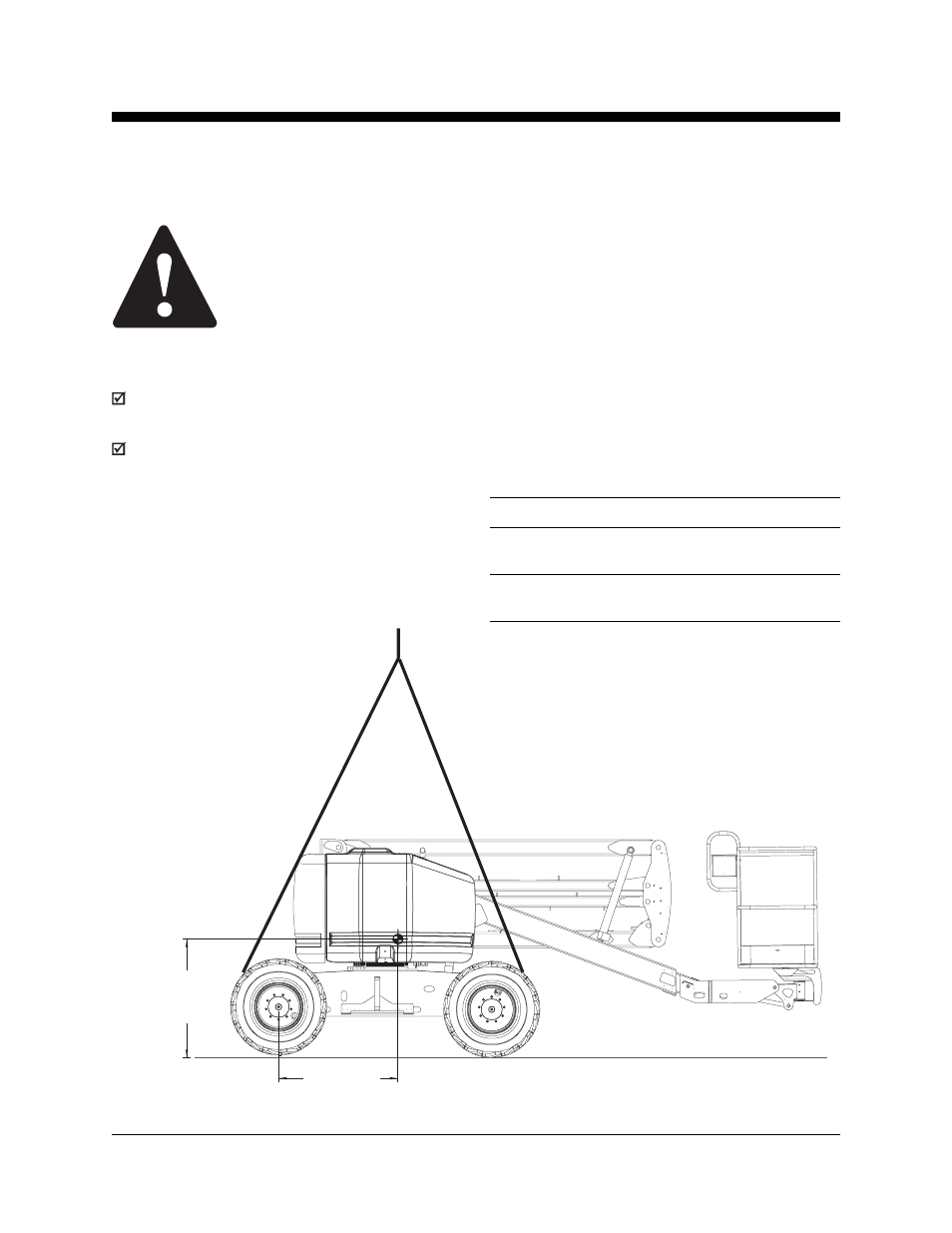 medium resolution of observe and obey lifting instructions genie z 45 user manual page 33 42