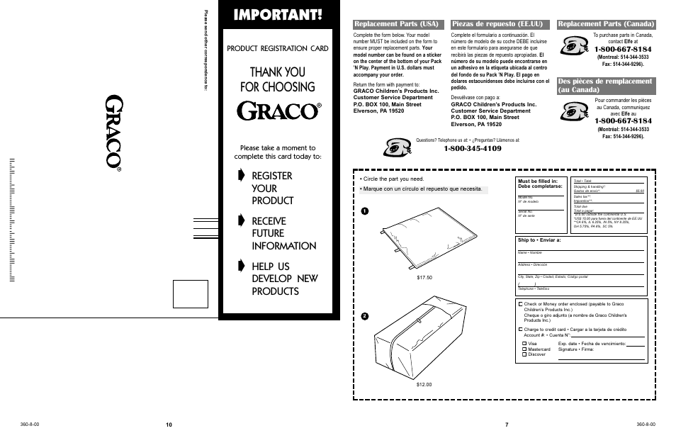 Graco playpen instruction manual