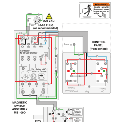 Capacitor Run Motor Wiring Diagram Vortex Flow Meter G0453z Diagram, 220v | Grizzly G0453px User Manual Page 50 / 72