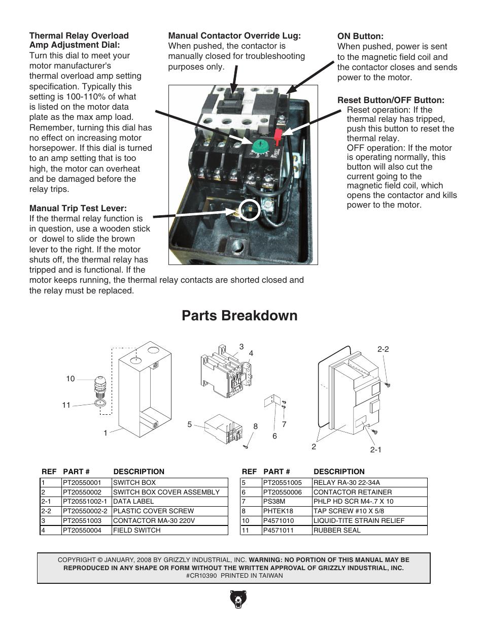 Malaguti Grizzly 10 Repair Manual
