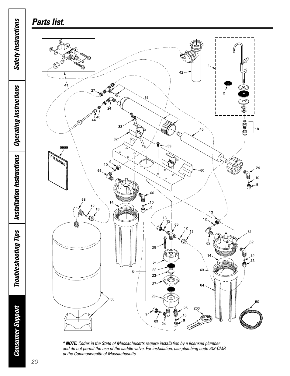 Parts list/catalog, Parts list/catalog , 21, Parts list