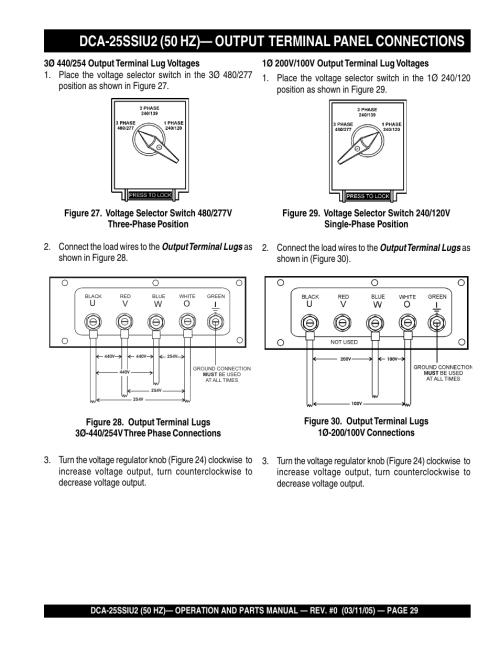 small resolution of multiquip mq power whisperwatt 50 hz generator dca 25ssiu2 user manual page 29